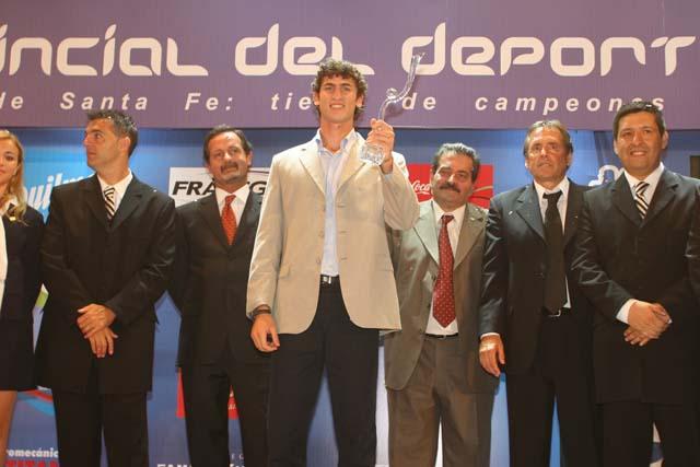 Germán Chiaraviglio: Mejor Deportista del Año.