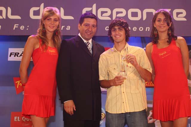 Fabricio Perren mejor piloto de motociclismo.